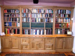Classic Oak Bookcase 1