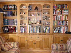Classic Oak Bookcase 8