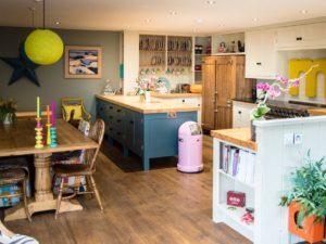 Colourful Funky Kitchen Diner