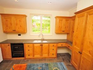 Country House Utility Wine Fridge Ceramic Sink Dog Bed 1