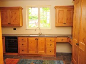 Country House Utility Wine Fridge Ceramic Sink Dog Bed