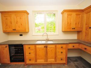 Country House Utility Wine Fridge Dog Bed View