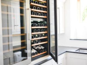 Modern Family House Utility Wine Cave
