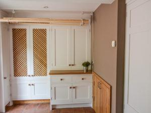 Modern Scullery Drying Room