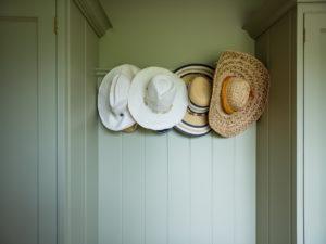 Back Hallway Hat Hooks