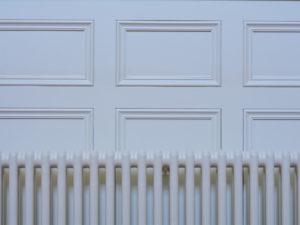 Hallway Panelling behind radiator